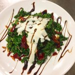 local kale & ny state apple salad