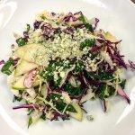 kale & cabbage salad
