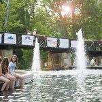 Creekside Plaza Fountains - Gahanna Ohio