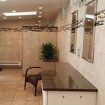 Ladies shower room