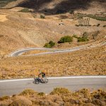 Scenic climb in the south of Crete