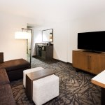 With a separate living room and bedroom, our modern suites offer more space to relax and work.