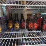 Donkey beer is a very popular beer in Santorini Greece