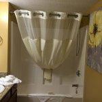 Bathroom for the double queen bedroom