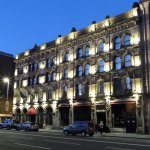 Malmaison Hotel at night