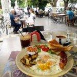 Πρωινο στο Παλλαδιο