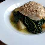 Hake with Pecan Crust