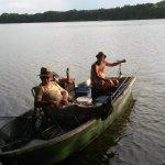 Eine lustige Bootstour ........