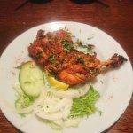 tandoori chicken on the bone