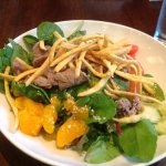 Asian Salad with Beef (10/01/17)