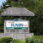 Entrance to the Fundy Trail