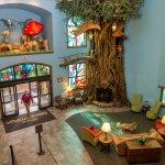 Zehnder's Splash Village Main lobby