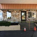 Front office - Reworking sidewalks