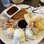 Chicken Katsu - Shrimp Tempura Combo