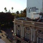 Vista plaza 9 de Julio