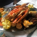 Seafood platter for 2 was delicious!! I recommend as a must have for anyone visiting this restau