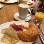 Included breakfast. Best coffee ever!