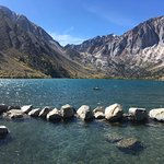 Convict Lake looks small next to these mountains, but has lots of room for fun