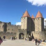 Chateau et Remparts de la Cite de Carcassonne Photo