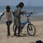Who gets the beach bike?