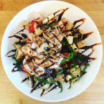 Panzanella Salad with Grilled Chicken