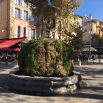 one of the gorgeous fountains aix is famous for