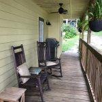 Porch on River Retreat Cottage