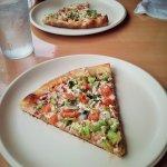 Vegan Pizza! YUM!
