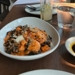 squid ink pasta is a must have if you visit little Italy SD.