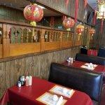Bill Lewis of Vero Beach, Florida, visiting Fu King Chinese Restaurant in Lake City.