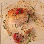 Honey Curry glazed Sea Bass