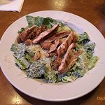 Great Chicken Caesar Salad at Texas Roadhouse, Gatlinburg, TN