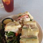 Laguna Club and Blueberry and Orange Ice Tea