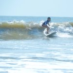 You can't see him, but Kyle is behind this wave. And because of him I'm ON it!