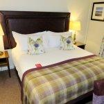 Comfortable room with nice decor - Macdonald Morlich Hotel (03/Sept/17).