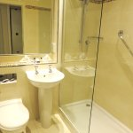 Bathroom was clean and modern - Macdonald Morlich Hotel (03/Sept/17).
