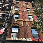 Tenement Museum ticketing and shop