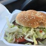 Quarter pound burger!