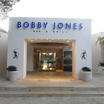 Bobby Jones entrance - very enticing: inside are photos of famous golfers