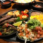 Steak and Shrimp Fajitas