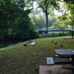 Luray has a lovely walking trail through town