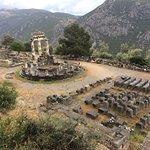 Athena's temple at Delphi