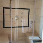 The outstanding, huge steam shower!