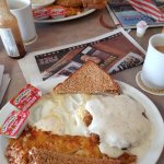 Chicken Fried steak. This is the HALF order.