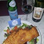 Fish, Chips and Vino!!