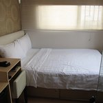 Compact room with all amenities - just no space!