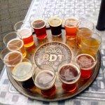 The beer clock at Brasseurs du Temps