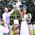 Japanese Wedding Attire by Island C Bali