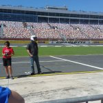 On pit row waiting my turn