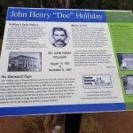 Bild från Doc Holliday's Grave